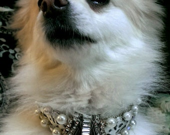 Pet Dog Necklace Collar Jewelry Small