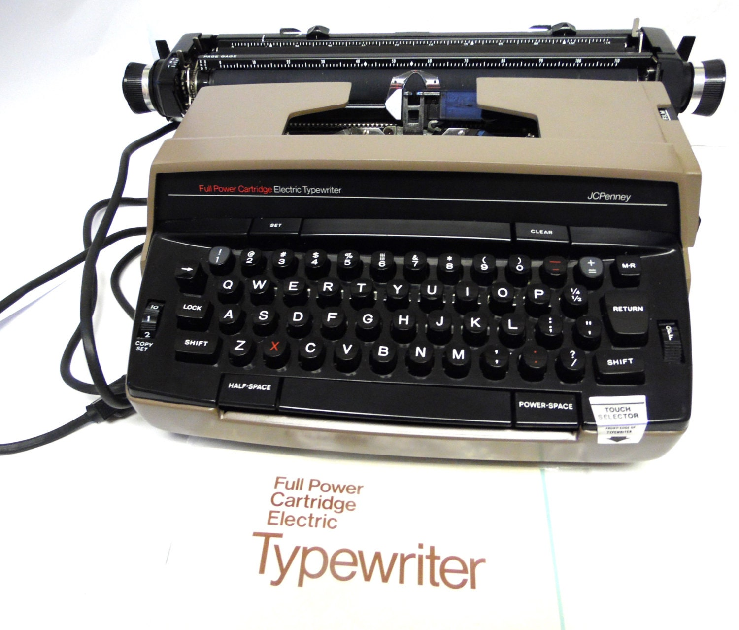 Jc Penney Electric Typewriter 1980 Office