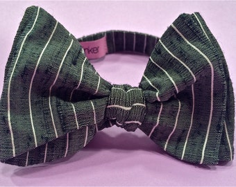 The Classic Pinstripe Bowtie