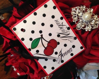 Rockabilly Escort Place Cards - 50's Theme Place Cards