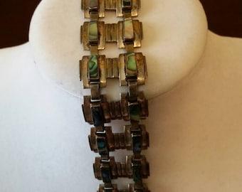 Abalone Sterling Bracelet