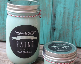 Highfalutin' Paint in Mint Julep 16 oz. Size
