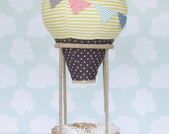 Hot Air Balloon Photography Prop for Babies and Toddlers (in Sunny Side Up)
