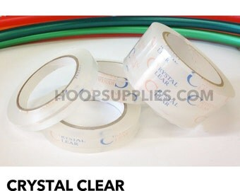 Crystal Clear Protective Hula Hoop Tape