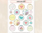 17 Embroidery Hoop Sewing Planner Stickers, Calendar Sticker, Planner Accessories, Erin Condren, Filofax, Project Life
