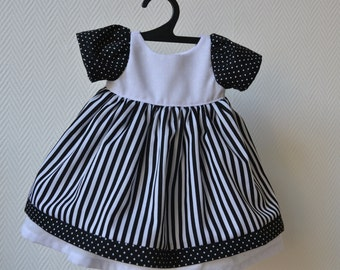 "Beautiful dress  for 16 - 17"" Waldorf dolls"