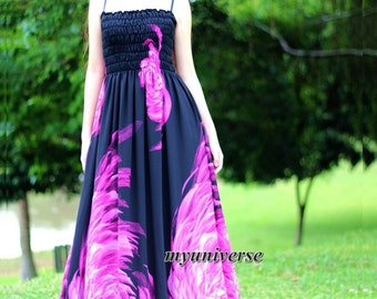 Black Maxi Dress Gown Sundress Dress Prom Summer Plus Size Floral Evening Dress