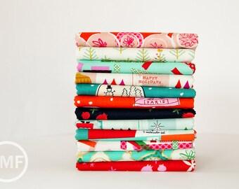 Tinsel Complete Half Yard Bundle, 12 Pieces, Full Collection, Cotton+Steel, RJR Fabrics, 100% Cotton Fabric