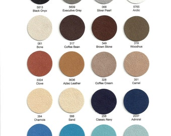 Ultrasuede Soft 1/2 yard - Choose from 37 colors.