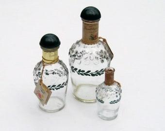 Vintage Perfume Bottle Collection: Friendship Garden Toilet Water by Shulton, 3 Lovely Bottles