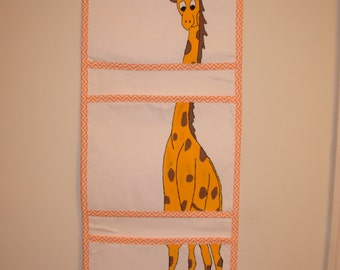 Adorable Animal hanging pockets!