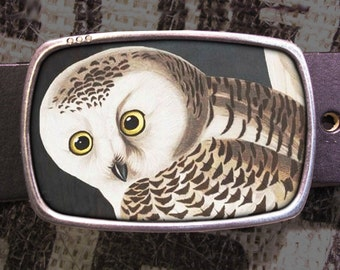 Owl Belt Buckle 535