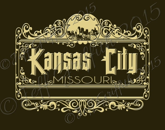 Svg Kansas City Mo Digital Cut File Svg Dxf Png From