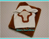 STEER HORN (Longhorn 2) Hooded Towel / Personalized It! / Ready to Ship