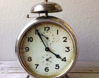Antique Haller Alarm Clock