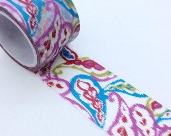 Colorful Pattern Washi Tape (30mm X 5M)
