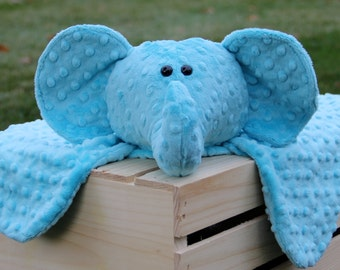 Made to Order - Soft and Snug-able Elephant Animal Blanket