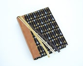 Bible Cover - Book Sleeve - ESV Journaling Bible Single and Double Column - NIV - Black and Gold Arrows