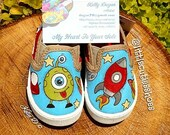 Size 3 Spaceship toddler shoes