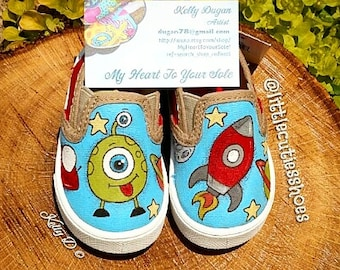 Spaceship toddler shoes