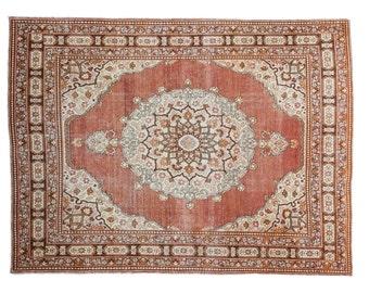 4x6 Antique Tabriz Rug