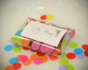 Tissue Confetti Circles Fiesta Brights Mix