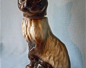 Cat Decanter Bottle Kentucky Bourbon