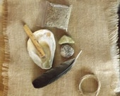 Smudge Set - smudging shaman druid witch wicca spirituality housewares travelling