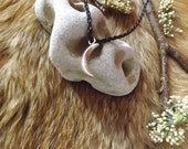 Sickle Moon Pendant -  pagan druid witch wicca witchcraft spirituality Lunar