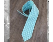 Men's Aqua Tie - Aqua Neck Tie - Spring Wedding Ties - Men's Skinny Tie - Groomsmen Ties - Blue Ties for Boys - Aqua Necktie for boys