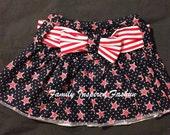 Baby girl patriotic skirt