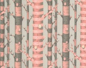 Bumble Forest Stripe in Sorbet by Tula Pink for FreeSpirit 1/2 yd Cotton Quilt Fabric