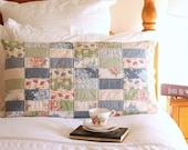 Pretty Patchwork Pillow Sham PDF Sewing Pattern