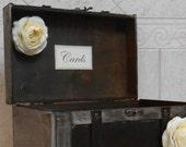 Wedding Card Box / Wedding Trunk / Wedding Card Holder / Rustic Wedding Trunk / Trunk Cardholder / Rustic Wedding Decor / Wedding Decoration