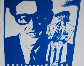 Buddy Holly Shirt  1970s vintage