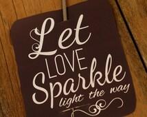 Wedding Sparkle-  Sparkler Tags Large - Card Craft Digital Printable U PRINT Instant Download