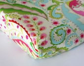 Changing Pad Cover, Baby Girl Nursery Bedding, Kumari Garden Change Mat Cover