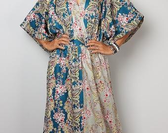 Boho Dress -  Kaftan Maxi Dress : Boho Kimono Collection No 1.1
