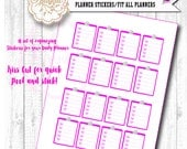 To Do Planner Stickers for your Daily Planner Organizer Embellishments | Fit the ECLP Planners | Fits Erin Condren | Kiss Cut for easy peel