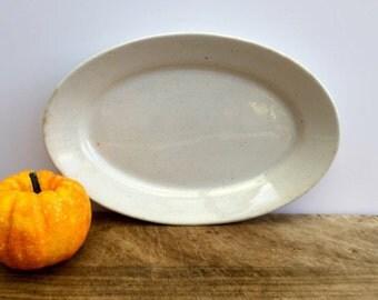 Vintage Ironstone Platter