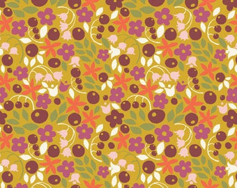 SALE - Meadow - Bitty Blooms - Organic Cotton Print Fabric from Monaluna