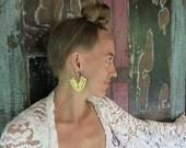 Ananda Brass Earring