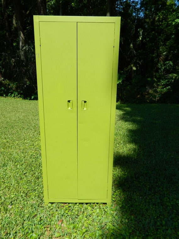 Vintage Metal Locker Metal Cabinet Storage Cabinet Mod