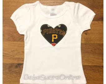 Pittsburgh Pirates Girls Top