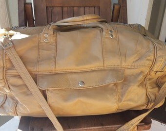 VOYAGE   ///   Leather Travel Duffel Bag