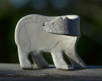 Polar Bear - Cub - Clay Sculpture...