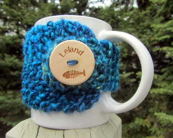 LELAND Up North Michigan Coffee Cup Cozy - Perfect for Gift Giving or Keeping and Environmentally Friendly