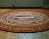 Ready to Ship Oval Wool Rug, Wool Rug, Crochet Rug, Crochet Rugs,  Area Rugs, Rug, Rugs, Floor Rug, Living Room Rug, Bedroom Rug