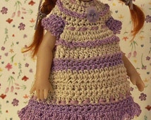 "Pansy Pretty for NEW TINY [6.5""] Riley Kish by JDL Doll Clothes"