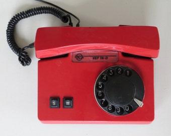 Vintage rotary phone – Etsy